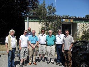 Prof. Glauber és a TOTEM-Hu csoport